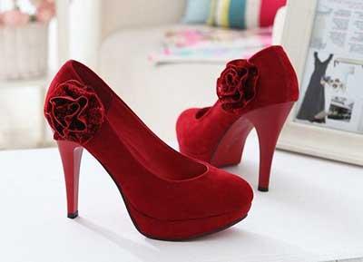sapatos de noiva da moda