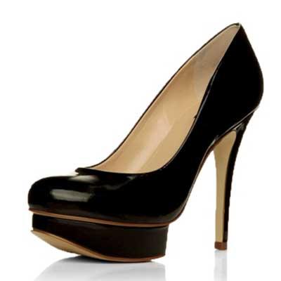 sapatos femininos meia pata