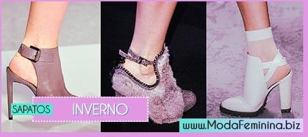 modelos de sapatos para inverno 2014