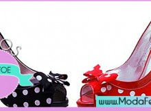 modelos de sapatos peep toe