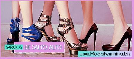 modelos de sapatos de salto alto