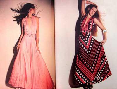 vestidos inspirados na moda anos 60