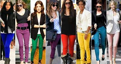 calças para mulheres
