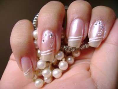 fotos de unhas para noivas