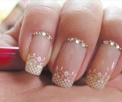 imagens de unhas para noivas
