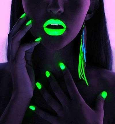 imagens de Esmalte neon