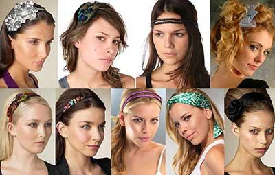 dicas de como usar faixas de cabelo