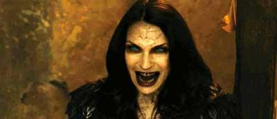 imagens de maquiagem de vampira