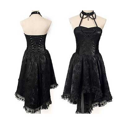 roupas da moda gótica