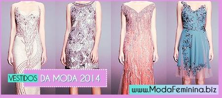 vestidos da moda 2014