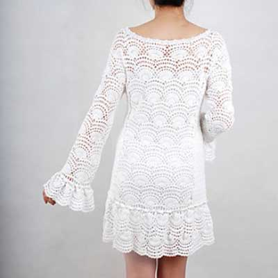 fotos de modelos de vestidos de croche