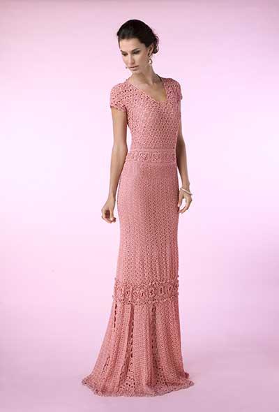 50 Vestidos De Crochê Modelos Fotos Imagens