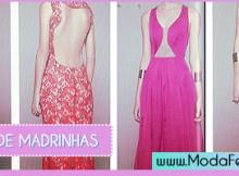 modelos de vestidos de madrinhas de casamento