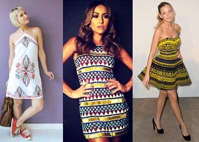 roupas com estampas étnicas