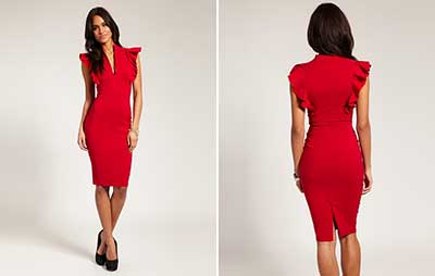 dicas de vestidos vermelhos