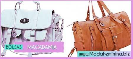 dicas de Bolsas Macadamia