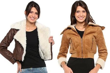 jaquetas com gola de pelos