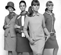 fotos da moda anos 60