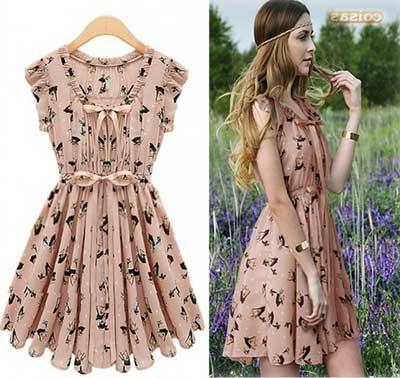 modelos de vestidos vintage