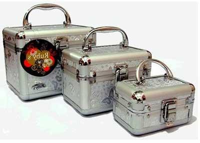 maleta de maquiagem importada