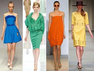 nos eventos da moda