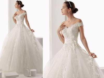 Modelos de Vestido de Noiva de Renda
