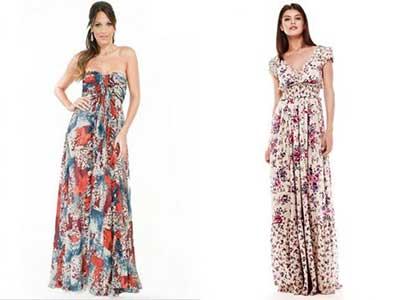 vestidos com estampas da moda