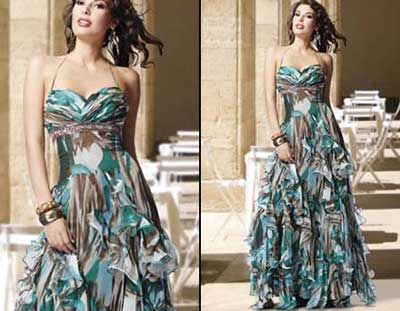 fotos de vestidos com estampas