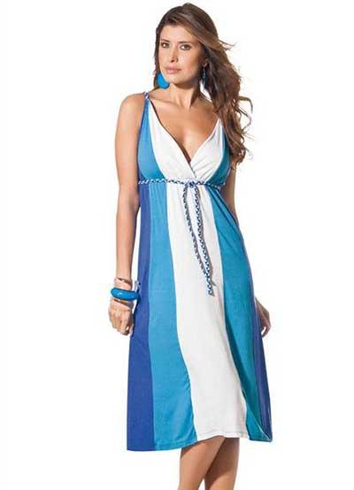 imagens de vestidos azuis