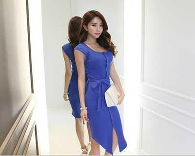 sugestões de vestidos azuis