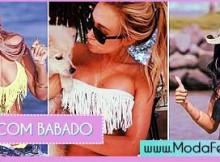 modelos de biquínis com babados
