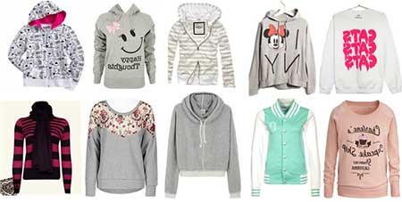 imagens de modelos de blusas de frio