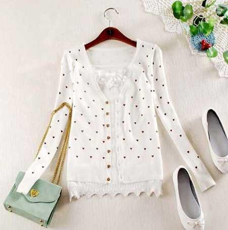 blusas de frio da moda feminina