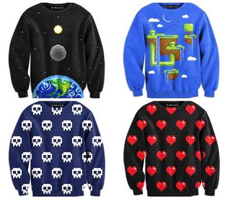blusas de frio para meninas mais nerds