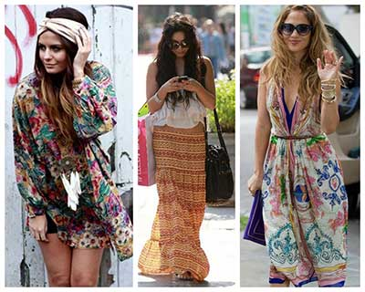 fotos de boho chic