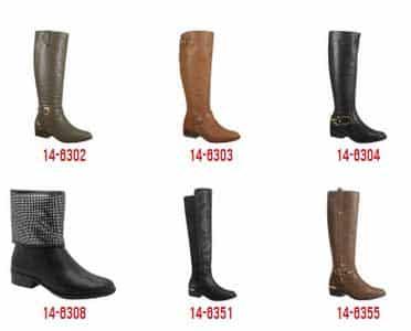 coleção de botas via marte
