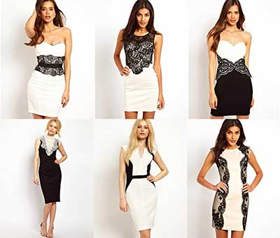 importando vestidos