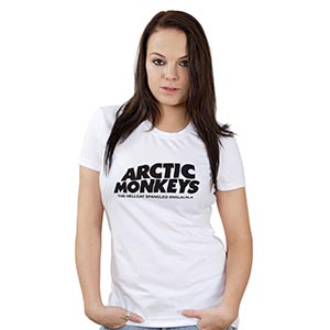 modelo de camiseta artic monkey