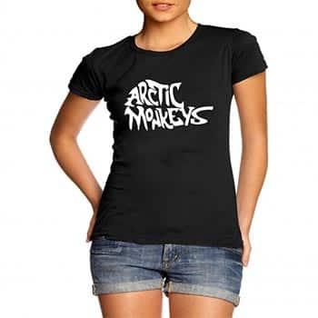 camisas arctic monkeys femininas