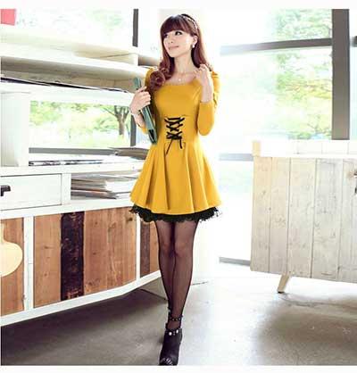 sugestões de vestidos elegantes