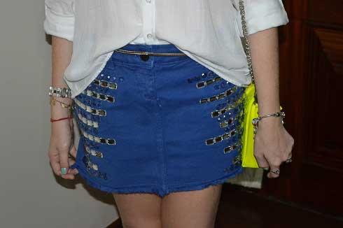 como usar saias customizadas