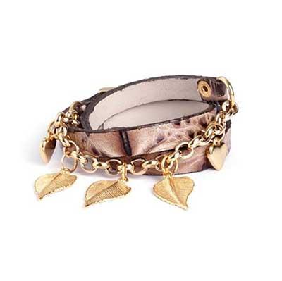 fotos de pulseiras de couro