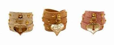 imagens de pulseiras de couro