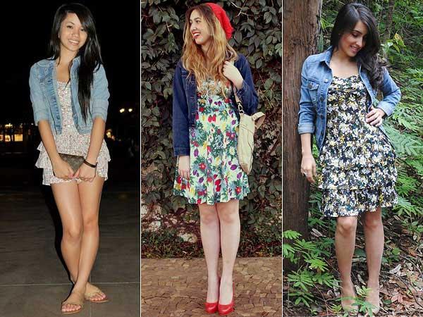 combinações de roupas