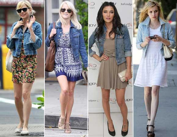 com jaqueta jeans
