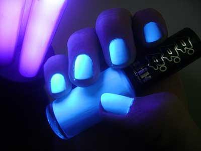 Fotos de Esmaltes Fluorescentes