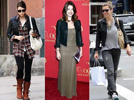 jaquetas femininas de couro