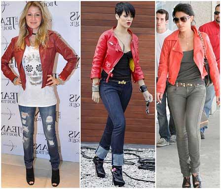 imagens de jaquetas de couro