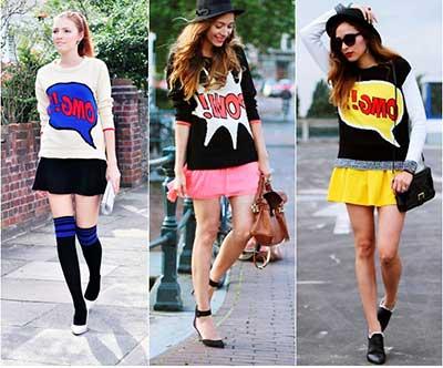 imagens da moda pop
