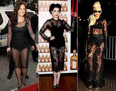fotos de vestidos transparentes